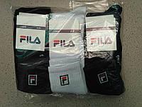 Жіночі бавовняні шкарпетки FILA упаковка 12 пар різні кольори