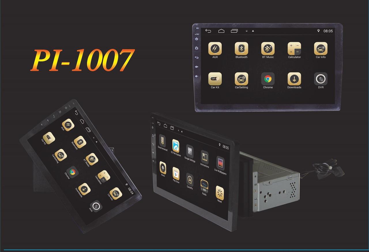 """Магнитола под шахту Pi-1007 Android 7.1.1, 10,1"""" IPS 4 Ядра,16 Гб+ 1 Гб ОЗУ! автомагнитола"""