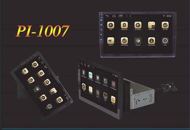 """Магнитола под шахту Pi-1007 Android 7.1.1, 10,1"""" IPS 4 Ядра,16 Гб+ 1 Гб ОЗУ! автомагнитола, фото 2"""