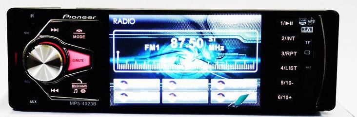 Автомагнитола Bluetooth 4,1 4023BT MP5+USB+Sd+MMС,Bluetooth камера заднего вида TВ