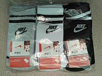 Жіночі бавовняні шкарпетки NIKE упаковка 12 пар різні кольори