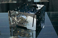Разборной мангал на 8 шампуров из нержавеющей стали 2мм. компактный с чехлом и перчатками .