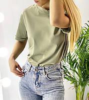 Женская футболка свободного кроя, фото 1