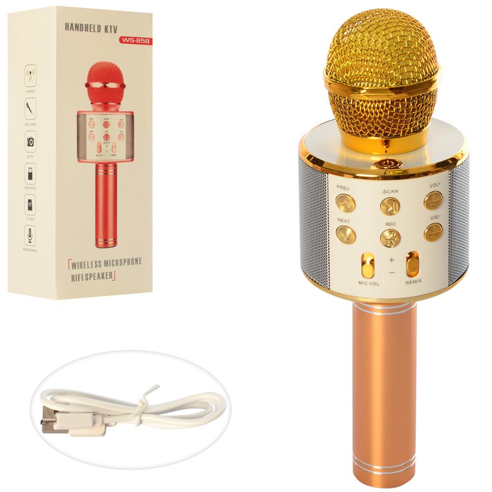 Беспроводной микрофон WS858-GOLD