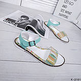 Женские шикарные сандалии босоножки из натуральной кожи, фото 7