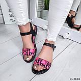 Женские шикарные сандалии босоножки из натуральной кожи, фото 9