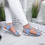 Женские шикарные сандалии босоножки из натуральной кожи, фото 4