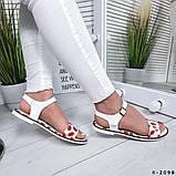 Женские шикарные сандалии босоножки из натуральной кожи, фото 8