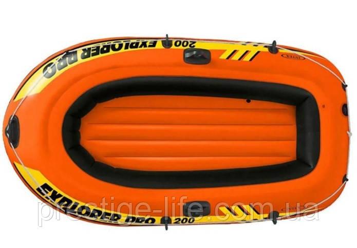 Надувная лодка Intex 58356 Explorer Pro 200 (196*102*33 см), до 120 кг, оранжевая