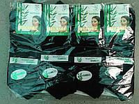 Жіночі бавовняні 100% короткі шкарпетки упаковка 12 пар білі, чорні