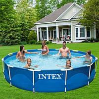 Бассейн каркасный Intex 366х76 см (28212) с фильтр-насосом