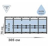 Каркасный бассейн Bestway 56679 круглый 305х76 см, фото 4