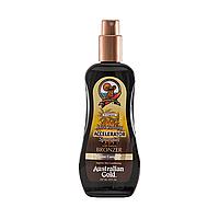 Темный ускоритель загара в аэрозоле AUSTRALIAN GOLD SPF Dark Tanning Accelerator Continious Spray, 177 ml