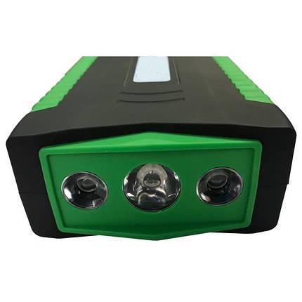 Бустер для машины павер банк автомобильный зарядно-пусковое устройство jump starter 19F 66800M Power Bank, фото 2