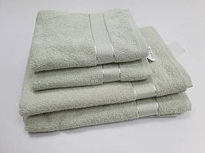 Полотенце махровое 40*70 Аиша  Ментол .