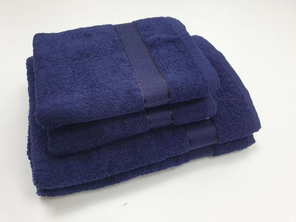 Полотенце махровое, Черничный 400гр/м2 (Руки 40/70см)