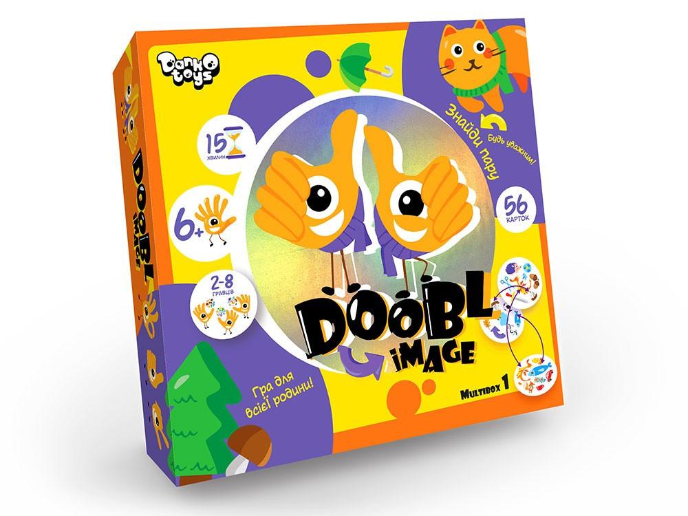 Настольная игра Доббль DOOBL IMAGE Danko Toys DBI-01-01U на укр.языке
