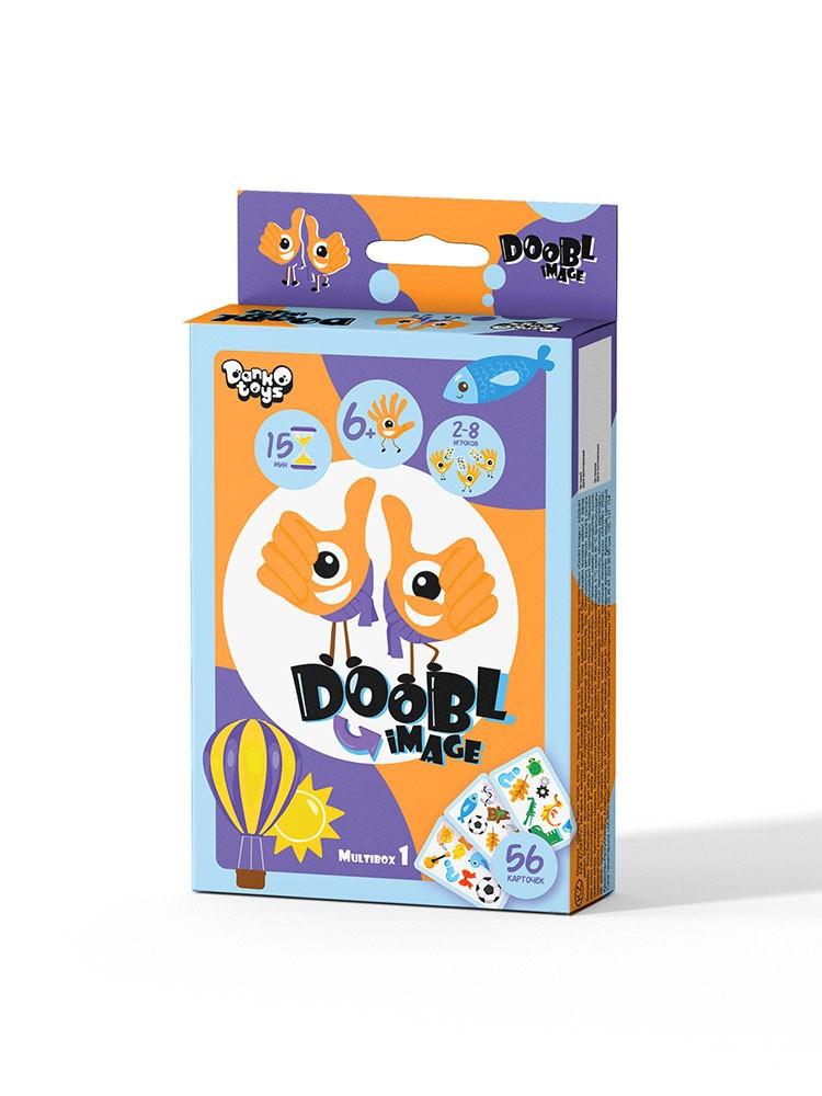 Настольная игра Доббль DOOBL IMAGE Danko Toys DBI-02-01U на укр. языке