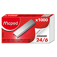 Скобы для степлера Maped №24/6 (1000 шт.)(MP.324405)