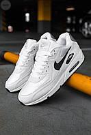 Мужские кроссовки Nike Air Max 90 White/Black, фото 1
