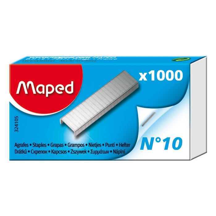 Скобы для степлера  Maped №10 (1000 шт.)(MP.324105)