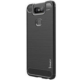 TPU чохол iPaky Slim Series для Asus Zenfone 6 (ZS630KL) Чорний