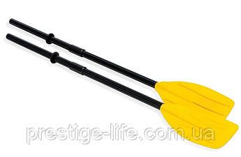 Сборные весла пластиковые Intex 59623, (длина - 122см), желтые