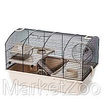 Клетка-домик для хомяка,крысы,белки дегу VICTOR 2 PLUS Inter Zoo G325 (500*330*330 мм), фото 3