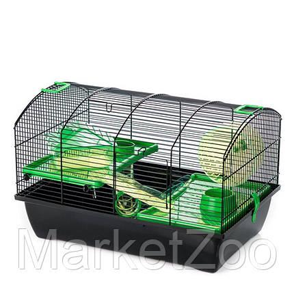 Клетка-домик для хомяка,крысы,белки дегу VICTOR 2 PLUS Inter Zoo G325 (500*330*330 мм), фото 2