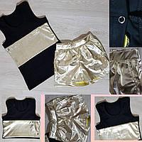 Комплект на девочку Диско: майка+шорты