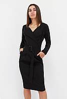 S, M, L, XL | Вишукане класичне жіноче плаття Mishell, чорний L (46-48)