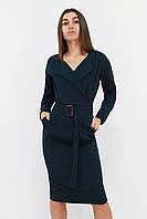 S, M, L, XL | Вишукане класичне жіноче плаття Mishell, зелений