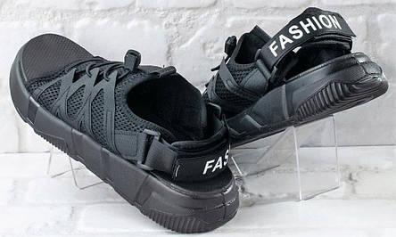Сандалии босоножки мужские черные 39 размер, фото 2