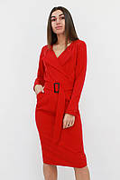 S, M, L, XL | Вишукане класичне жіноче плаття Mishell, червоний