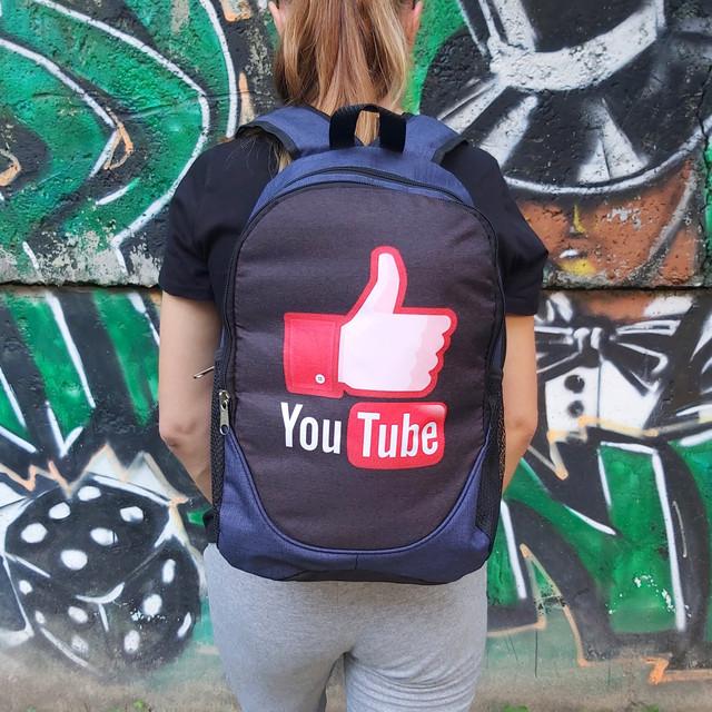 Рюкзак молодежный Ютюб