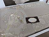 Жакардове турецьке покривало з наволочками 240*260 Miss Bella Antik, фото 2