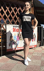 Женское летнее платье DOLCE s GABBANA черного цвета