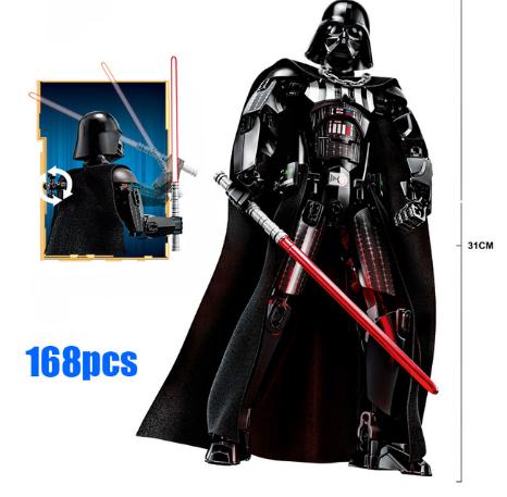 Конструктор Дарт Вейдер, фигурка Darth Vader Звездные войны 30см
