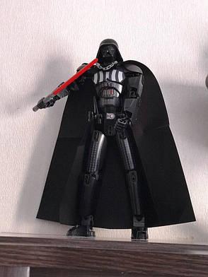 Конструктор Дарт Вейдер, фигурка Darth Vader Звездные войны 30см, фото 2