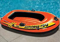 """Лодка надувная одноместная с ручками Intex 58355 """"EXPLORER"""", до 80 кг"""