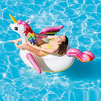 Надувной плот для плавания Intex «Единорог» 57561 (201*140*97 см)