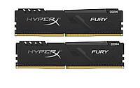 Модуль памяти DDR4 2х8GB/3200 Kingston HyperX Fury Black (HX432C16FB3K2/16)