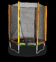 Батут  140 см. с защитной сеткой