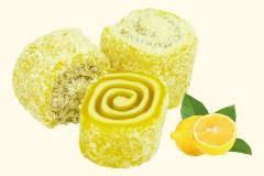 Рахат лукум роллы вкус молочно/ лимонный 500 грамм