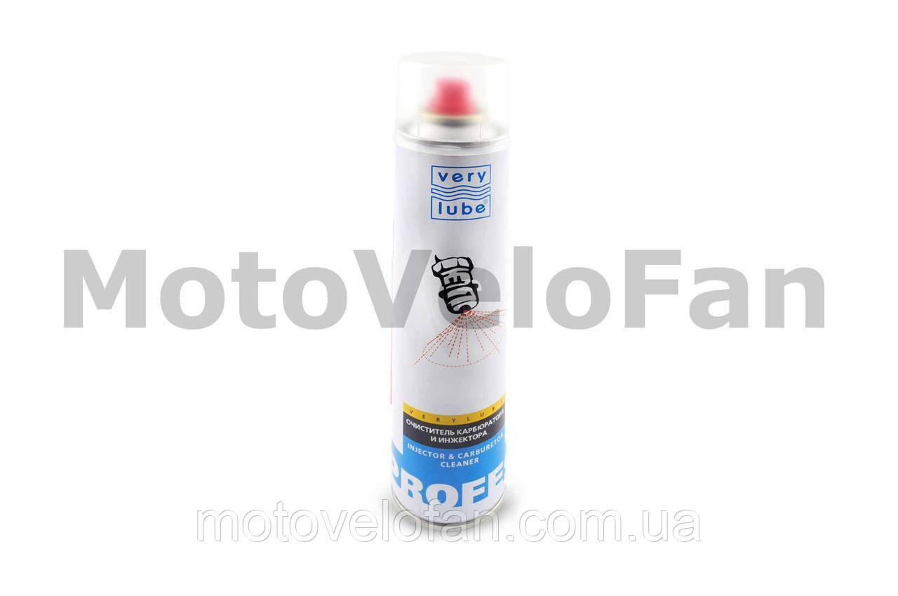 Очиститель карбюратора и инжектора 320мл (аэрозоль)   VERYLUBE