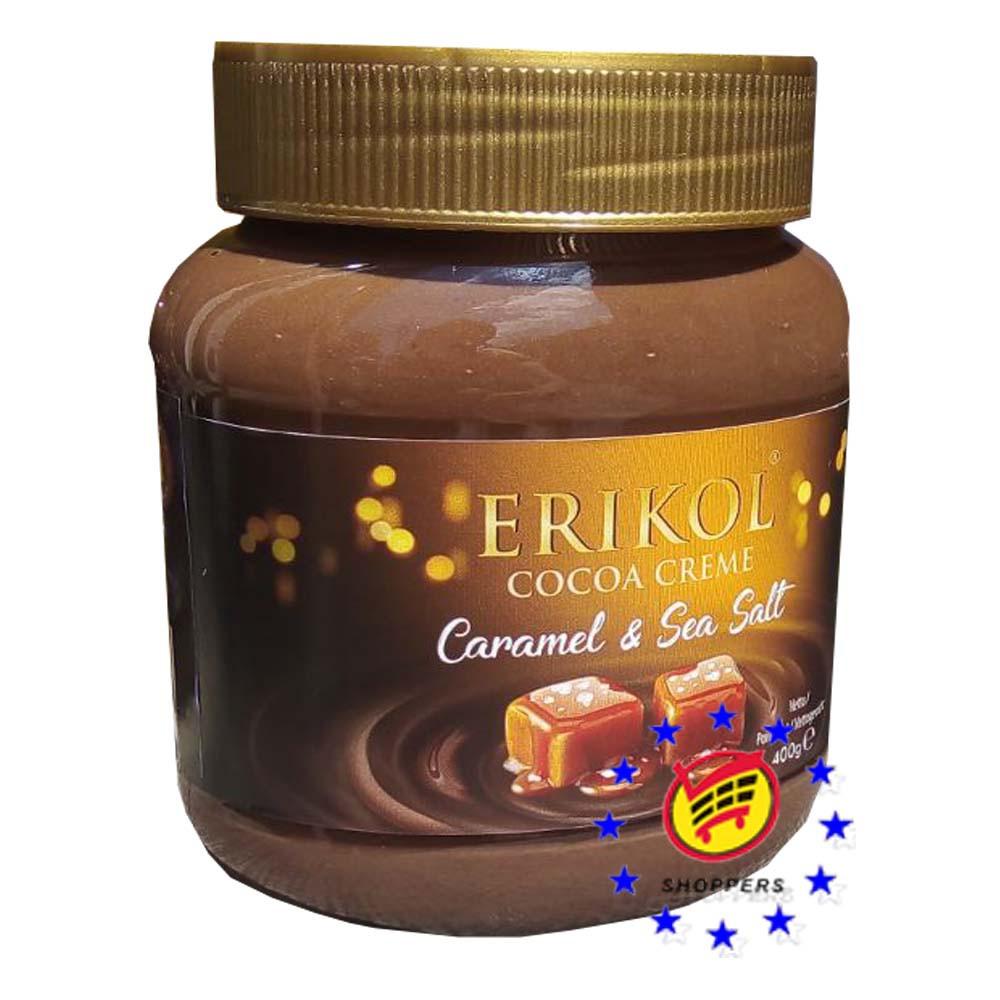 Шоколадная паста карамель с солью Erikol 400г