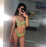 Женский купальник yellow размер L