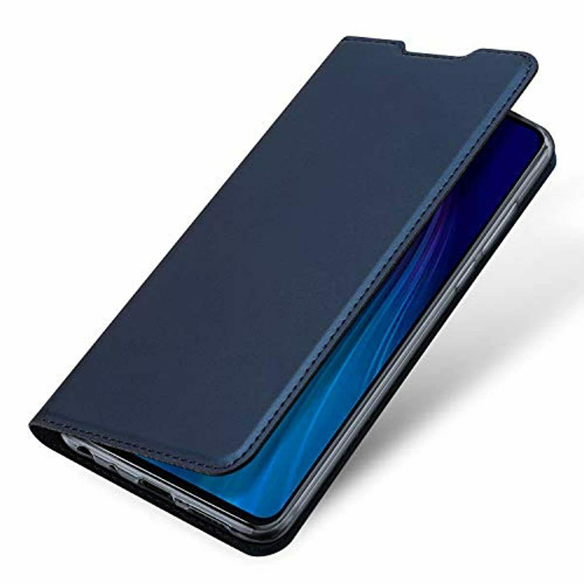 Dux Ducis Xiaomi Redmi Note 8T Skin Pro Series Case Blue Чехол-Книжка