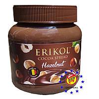 Шоколадная паста с фундуком Erikol 400г