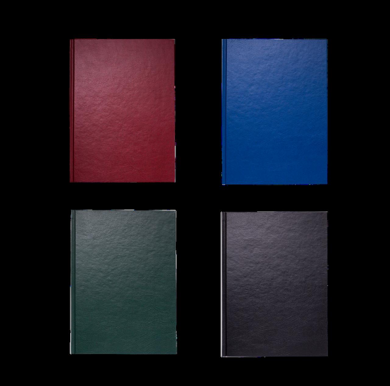 Книга канцелярская OFFICE, А4, 192 л., клетка, офсет, твердая обложка с бумвинилом, ассорти (BM.2406)